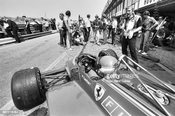 Patrick Tambay, Ferrari 126C2, Grand Prix of the Netherlands, Circuit Park Zandvoort, 03 July 1982.