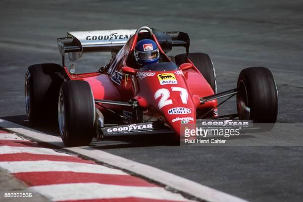 Patrick Tambay, Ferrari 126C2B, Grand Prix of Belgium, Circuit de Spa-Francorchamps, 22 May 1983. Patrick Tambay driving his Ferrari in Spa...