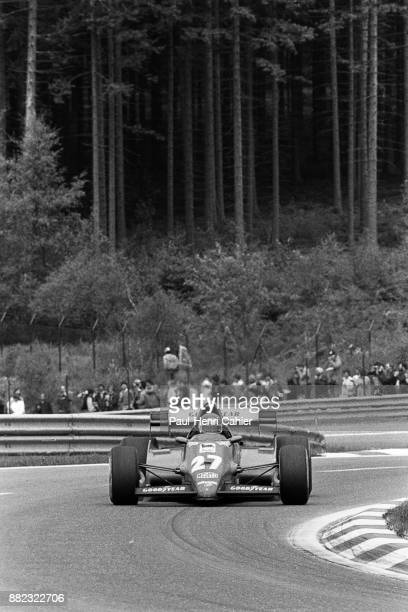 Patrick Tambay, Ferrari 126C2B, Grand Prix of Belgium, Circuit de Spa-Francorchamps, 22 May 1983.