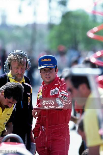 Patrick Tambay, Ferrari 126C2B, Grand Prix of the United States West, Grand Prix of Long Beach, 27 March 1983.