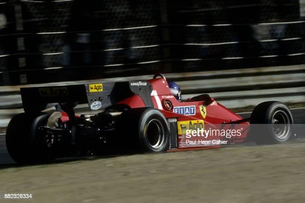 Patrick Tambay, Ferrari 126C3, Grand Prix of Italy, Autodromo Nazionale Monza, 11 September 1983.