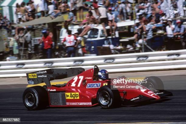 Patrick Tambay, Ferrari 126C3, Grand Prix of South Africa, Kyalami, 15 October 1983.