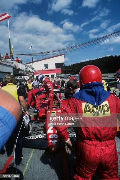 Patrick Tambay, Ferrari126C3, Grand Prix of Austria, Osterreichring, 14 August 1983.