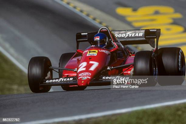 Patrick Tambay, Ferrari126C3, Grand Prix of Great Britain, Silverstone Circuit, 16 July 1983.