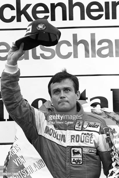Patrick Tambay, Grand Prix of Germany, Hockenheimring, 08 August 1982.