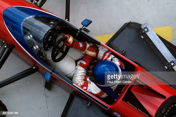 Patrick Tambay LolaHart THL1 Grand Prix of Spain Circuito de Jerez 13 April 1986