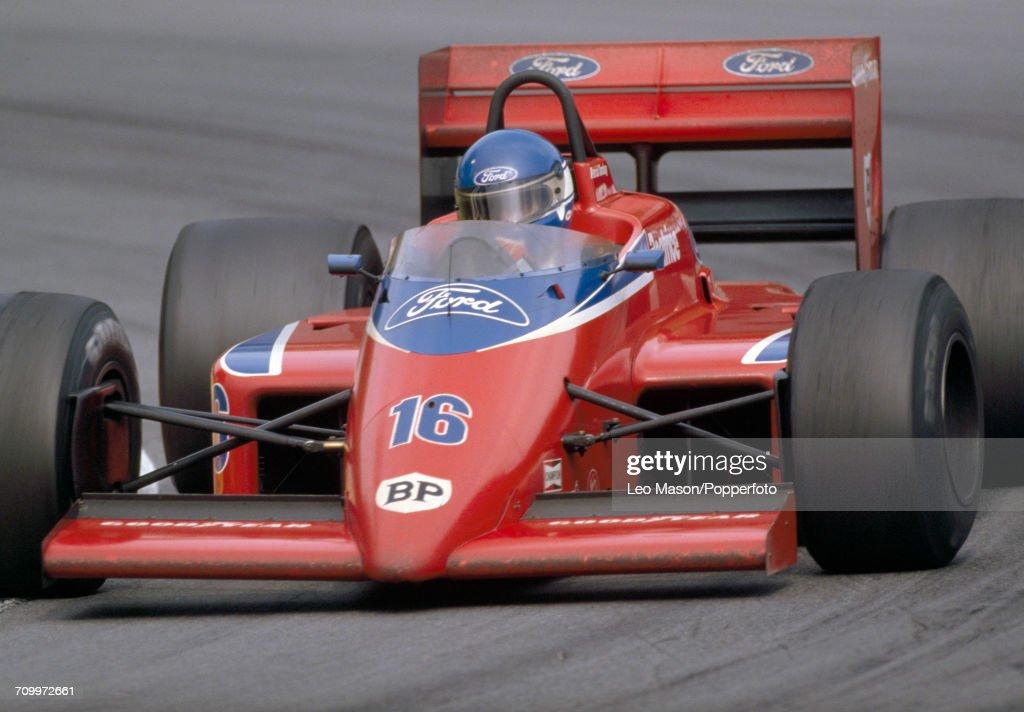 Formula One Grand Prix - Patrick Tambay : Nyhetsfoto