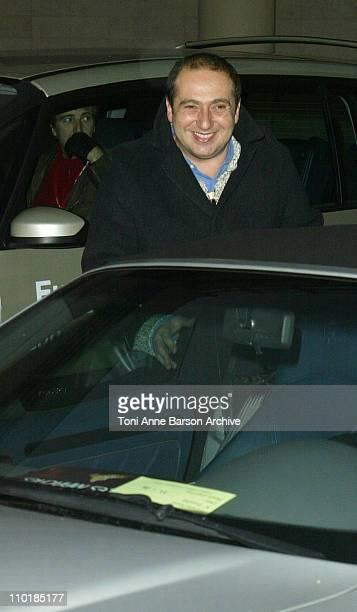 Patrick Timsit during 2004 NRJ Music Awards Rehearsal Arrivals at Palais des Festivals in Cannes France