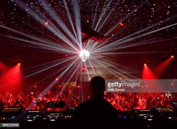 Patrick Topping performs in the Yuma tent during day 3 of the Coachella Valley Music And Arts Festival at the Empire Polo Club on April 16 2017 in...