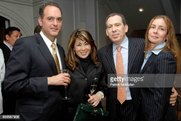 Patrick Toth Cassidy Choi Schagrin Paul Raps and Leah Raps attend SUZANNE SAPERSTEIN Hosts Private Cocktail Event at LEVIEV at Leviev on May 14 2009...
