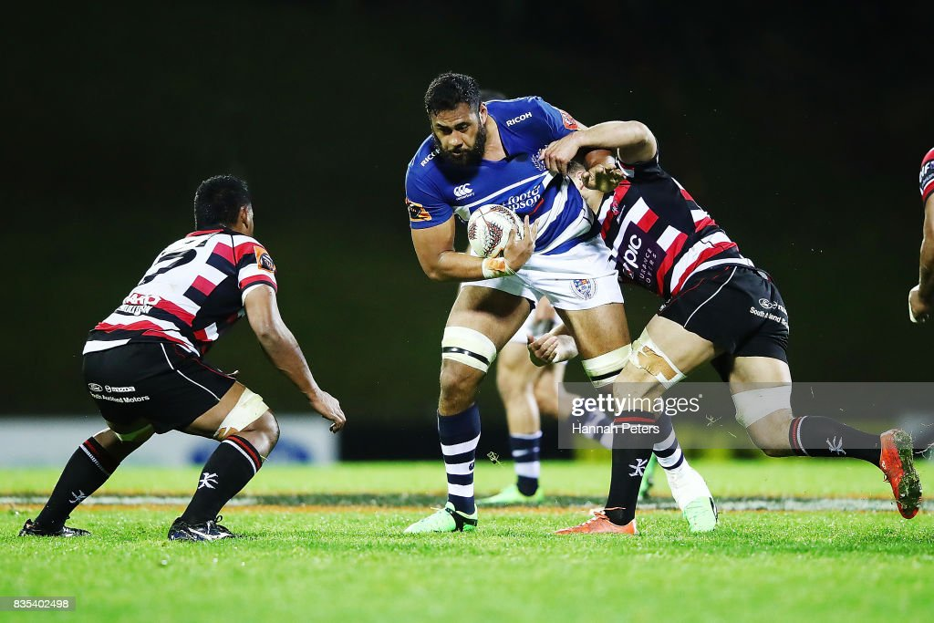 Mitre 10 Cup Rd 1 - Counties Manukau v Auckland : News Photo