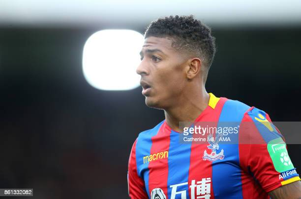 Patrick van Aanholt of Crystal Palace during the Premier League match between Crystal Palace and Chelsea at Selhurst Park on October 14 2017 in...