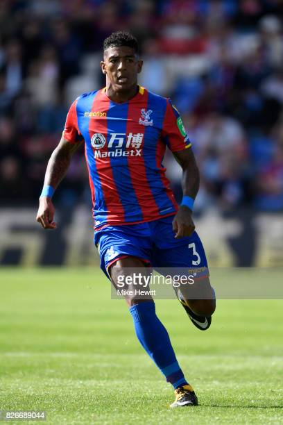 Patrick Van Aanholt of Crystal Palace in action during a Pre Season Friendly between Crystal Palace and FC Schalke 04 at Selhurst Park on August 5...