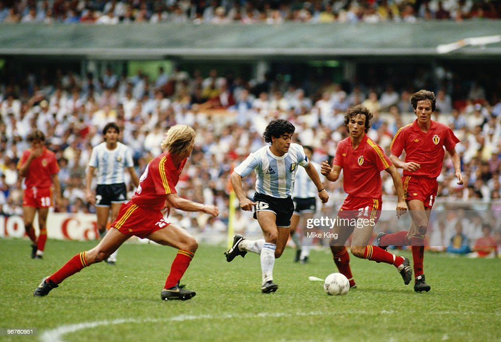 Argentina vs Belgium : News Photo