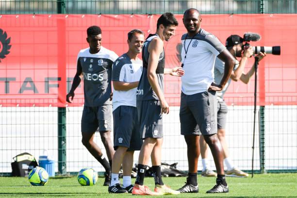 FRA: Training session OGC Nice - Ligue 1