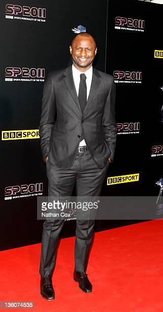 Patrick Viera attends the awards ceremony for BBC Sports Personality of the Year 2011 at Media City UK on December 22 2011 in Manchester England