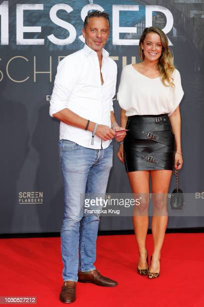 Patrick von FaberCastell and Marina Hoermanseder during the 'Mackie Messer Brechts Dreigroschenfilm' premiere at Zoo Palast on September 10 2018 in...