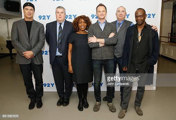 Patrick Waarburton Daniel Handler Alfre Woodard Neil Patrick Harris Barry Sonnenfeld and K odd Freeman attend 'Lemony Snicket's A Series of...