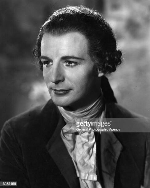 Patrick Waddington a British character actor in a scene from the film 'I Give My Heart' adapted from the operetta success 'The Dubarry' and directed...