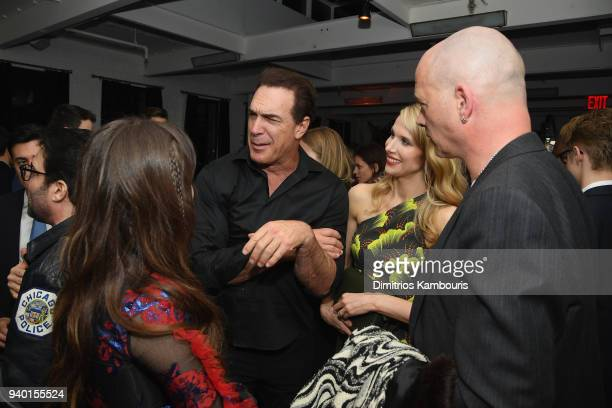 Patrick Warburton and Lucy Punch attend the Netflix Premiere of 'A Series of Unfortunate Events' Season 2 on March 29 2018 in New York City