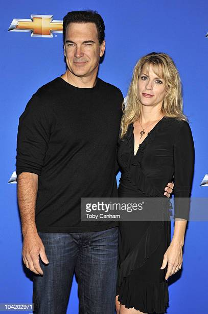 Patrick Warburton and wife Catherine attend the CBS event Cruze Into The Fall held at The Colony on September 16 2010 in Los Angeles California