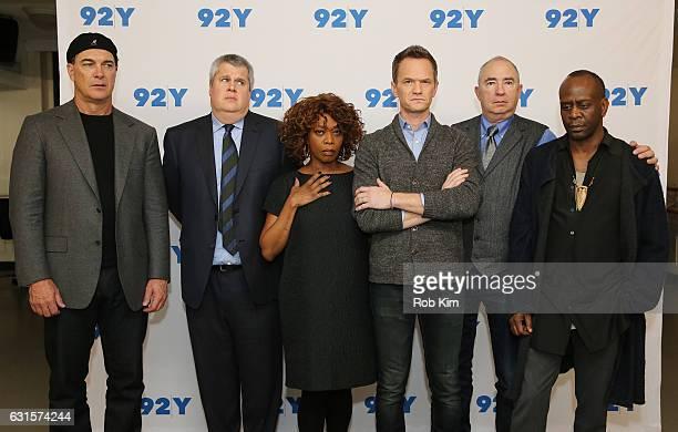 Patrick Warburton Daniel Handler Alfre Woodard Neil Patrick Harris Barry Sonnenfeld and K Todd Freeman attend the New York Screening of 'Lemony...