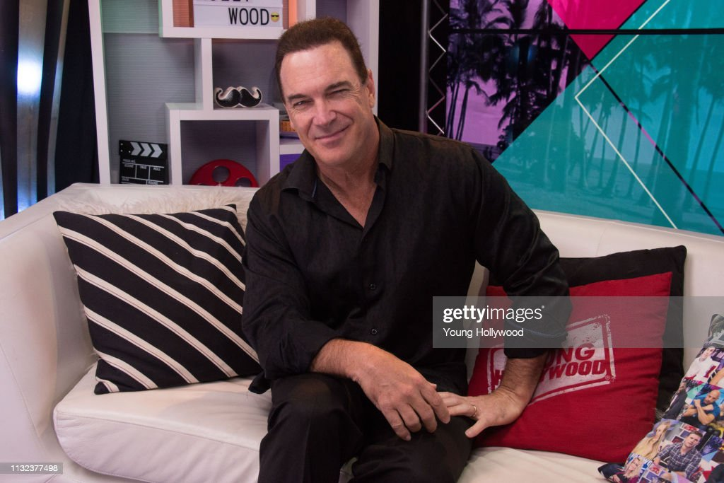 Patrick Warburton Visits Young Hollywood Studio : News Photo