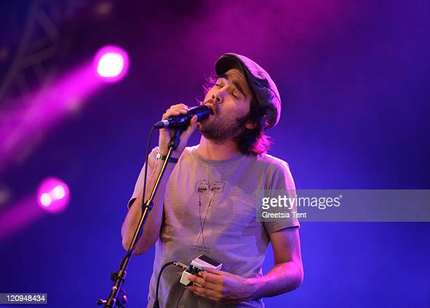 Patrick Watson performs live on Day 3 of the Lowlands Festival on August 23, 2009 in Biddinghuizen, Netherlands.
