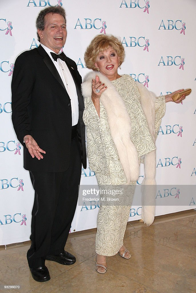 Patrick Wayne (L) and actress Ruta Lee attend the Associates for Breast and Prostate Cancer's 20th Anniversary Gala at the Beverly Hilton Hotel on November 21, 2009 in Beverly Hills, California.