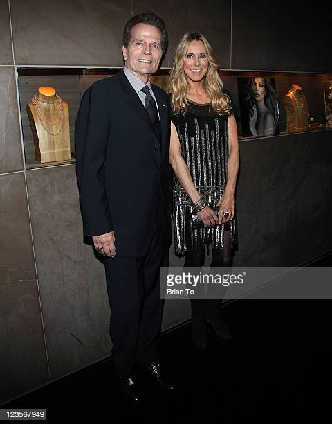 Patrick Wayne and Alana Stewart host exclusive shopping event benefiting John Wayne Cancer Institute Auxiliary at David Yurman boutique on February 8...