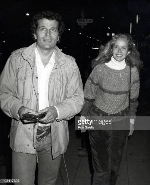 Patrick Wayne And Girlfriend Marcia Wolfe