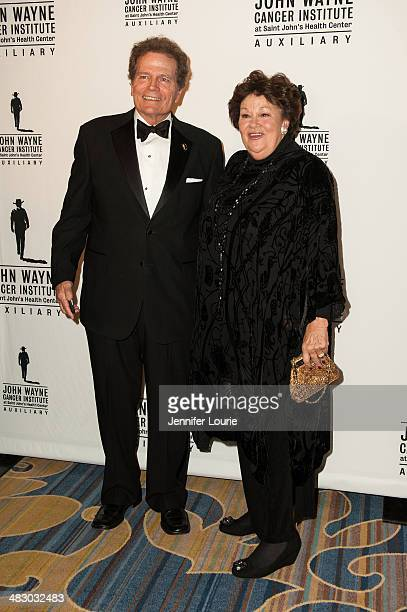 Patrick Wayne and Melinda Wayne Munoz attend the John Wayne Cancer Institute Auxiliary's 29th Annual Odyssey Ball hosted at the Regent Beverly...