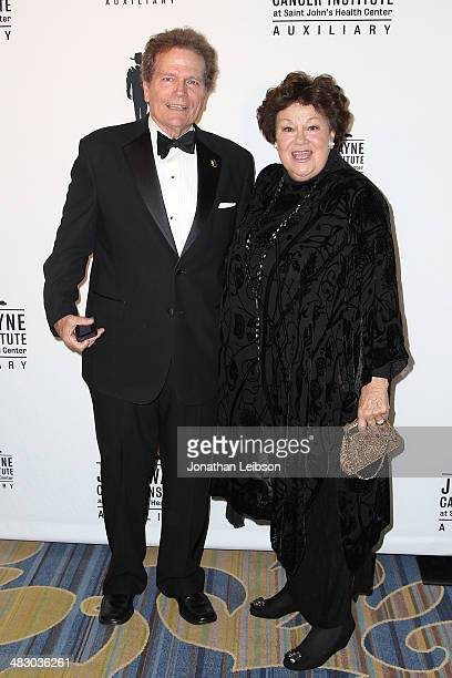Patrick Wayne and Melinda Wayne Munoz attend the John Wayne Cancer Institute Auxiliary's 29th Annual Odyssey Ball Arrivals at Regent Beverly Wilshire...