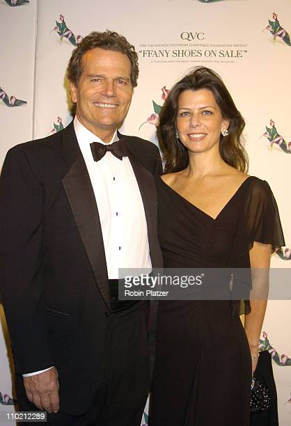 Patrick Wayne and wife Misha during 11th Annual QVC Presents FFANY Shoes on Sale Gala Benefitting Breast Cancer Research and Education at The...
