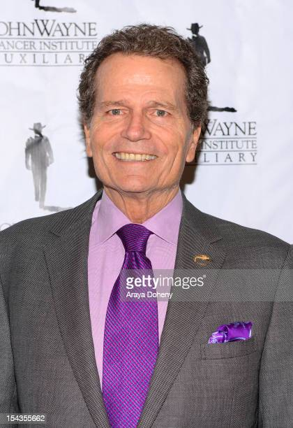 Patrick Wayne arrives at the John Wayne Cancer Institute Auxiliary annual awards luncheon at Beverly Hills Hotel on October 18 2012 in Beverly Hills...