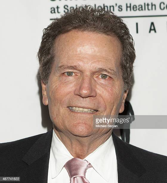 Patrick Wayne arrives at the John Wayne Cancer Institute Luncheon at the Beverly Wilshire Four Seasons Hotel on October 23 2014 in Beverly Hills...