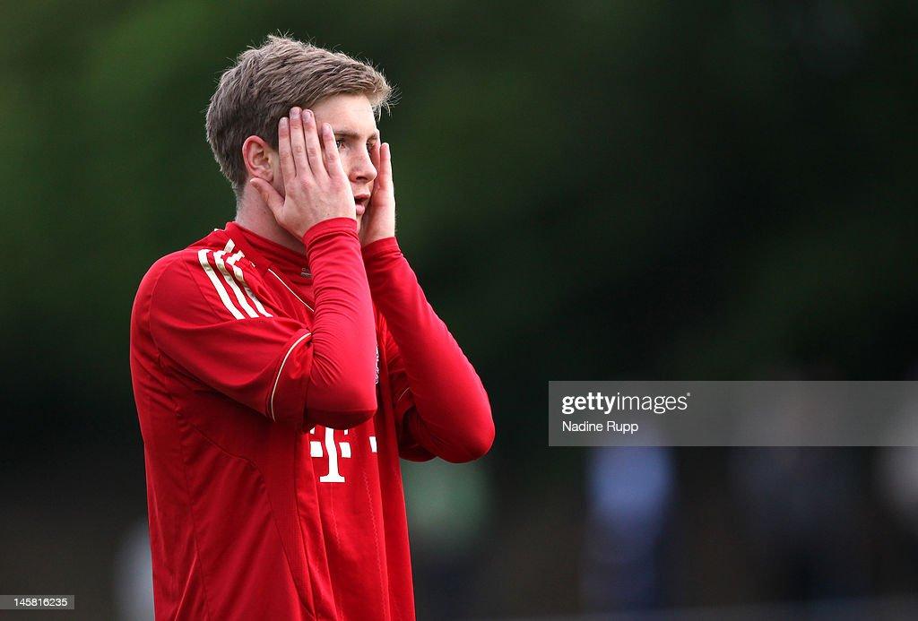 Bayern Muenchen v Hertha BSC - A Juniors Bundesliga Semi Final