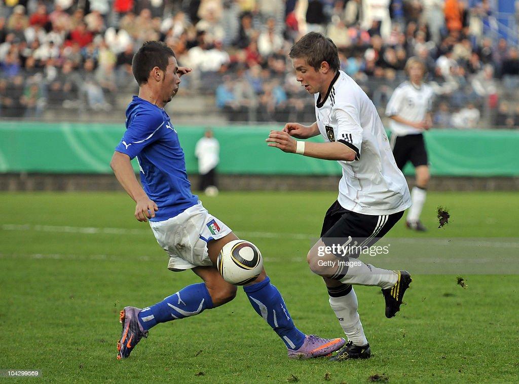 U17 Germany v U17 Italy - International Friendly