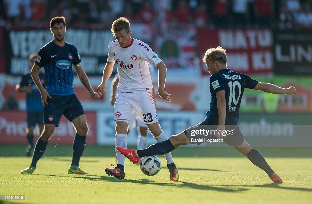 1. FC Heidenheim 1846 v FC Wuerzburger Kickers - Second Bundesliga