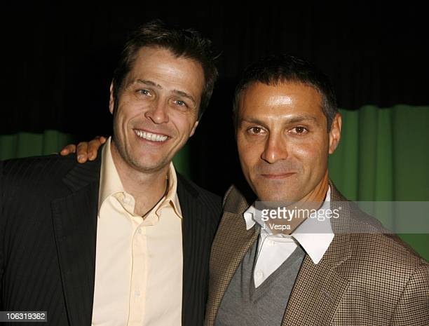 Patrick Whitesell and Ari Emanuel during Endeavor 2006 PreOscar Party in Los Angeles California United States