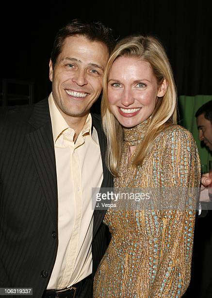 Patrick Whitesell and Catherine McCord during Endeavor 2006 PreOscar Party in Los Angeles California United States