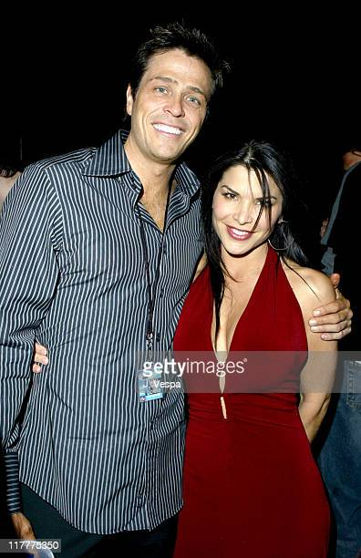 Patrick Whitesell and Lauren Sanchez during David Bowie After Party at the Penthouse Suite at the Hard Rock Hotel and Casino at Hard Rock Hotel and...