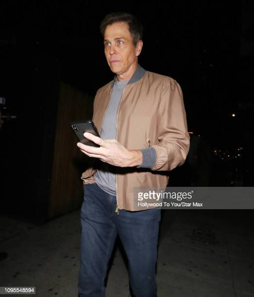 Patrick Whitesell is seen on February 7 2019 in Los Angeles CA