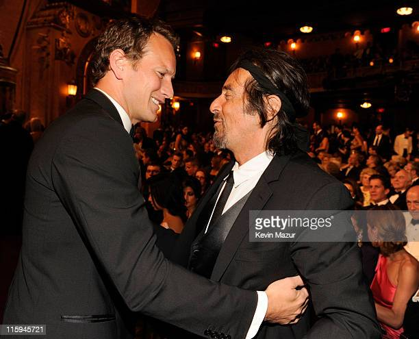 Patrick Wilson and Al Pacino attends the 65th Annual Tony Awards at the Beacon Theatre on June 12 2011 in New York City
