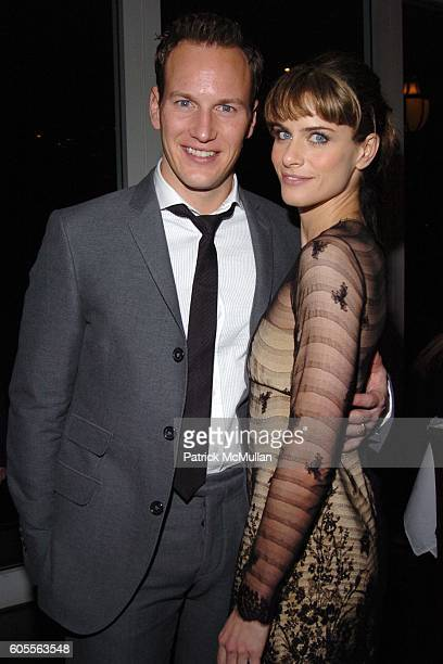 Patrick Wilson and Amanda Peet attend Afterparty for The Opening of 'Barefoot In The Park' Sponsored by Grey Goose Vodka at The Central Park...