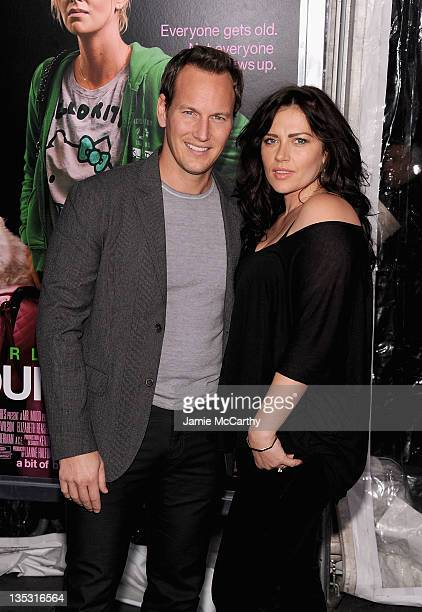 Patrick Wilson and Dagmara Dominczyk attend the 'Young Adult' world premiere at the Ziegfeld Theatre on December 8 2011 in New York City