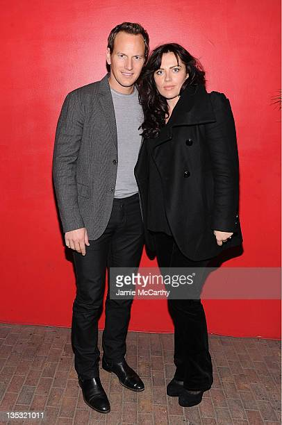 Patrick Wilson and Dagmara Dominczyk attend the Young Adult world premiere after party at the Hudson Terrace on December 8 2011 in New York City