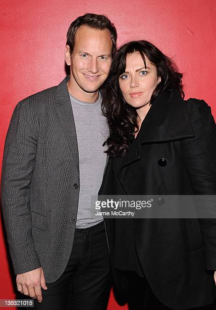 Patrick Wilson and Dagmara Dominczyk attend the 'Young Adult' world premiere after party at the Hudson Terrace on December 8 2011 in New York City
