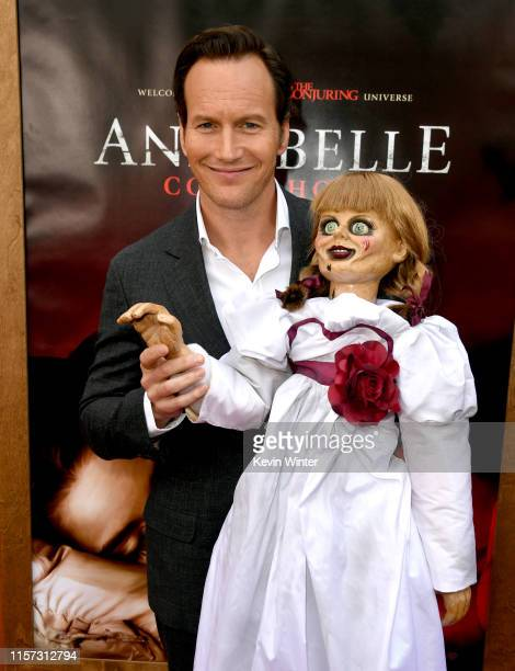Patrick Wilson arrives at the premiere of Warner Bros Pictures and New Line Cinema's Annabelle Comes Home at Regency Village Theatre on June 20 2019...