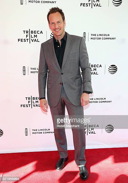 Patrick Wilson attends A Kind of Murder premiere during 2016 Tribeca Film Festival at SVA Theatre 2 on April 17 2016 in New York City